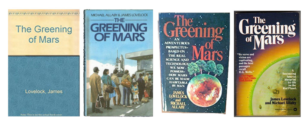 Greening of Mars Covers